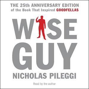 Wiseguy audiobook cover art