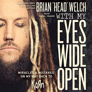 With My Eyes Wide Open audiobook cover art