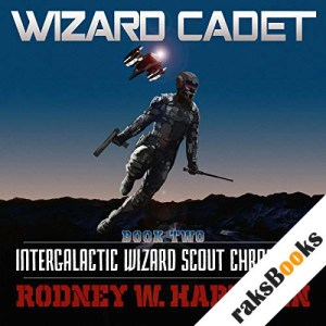Wizard Cadet audiobook cover art