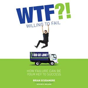 WTF?! (Willing to Fail) audiobook cover art