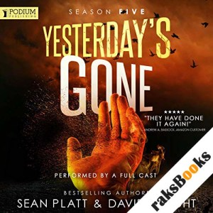Yesterday's Gone audiobook cover art