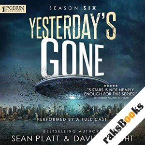 Yesterday's Gone: Season Six audiobook cover art