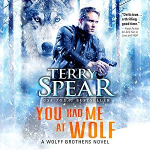 You Had Me at Wolf audiobook cover art
