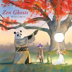 Zen Ghosts audiobook cover art