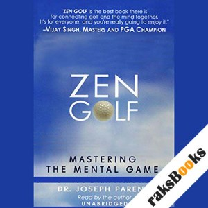 Zen Golf audiobook cover art