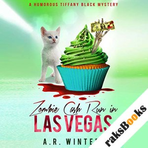 Zombie Cash Rush in Las Vegas audiobook cover art