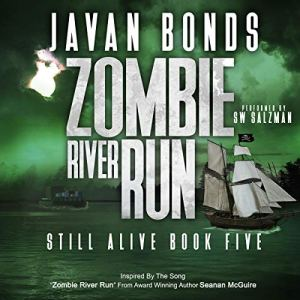 Zombie River Run audiobook cover art
