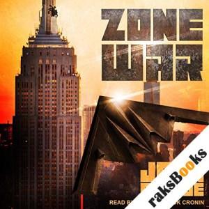Zone War audiobook cover art