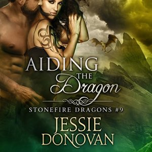 Aiding the Dragon Audiobook By Jessie Donovan cover art