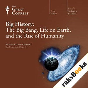 Big History: The Big Bang, Life on Earth, and the Rise of Humanity Audiobook By David Christian, The Great Courses cover art