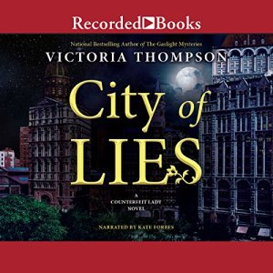 City of Lies Audiobook By Victoria Thompson cover art