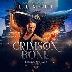 Crimson Bone Audiobook By L.L. McNeil cover art