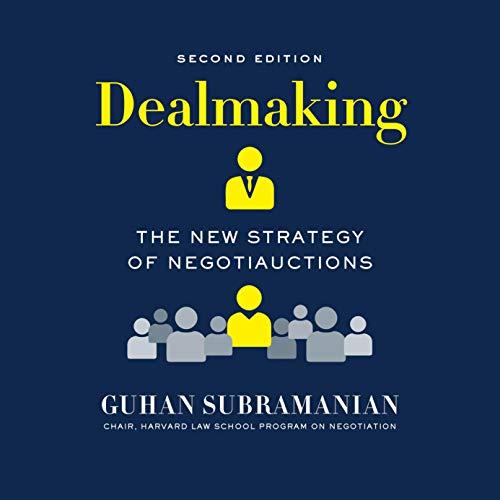 Dealmaking Audiobook By Guhan Subramanian cover art