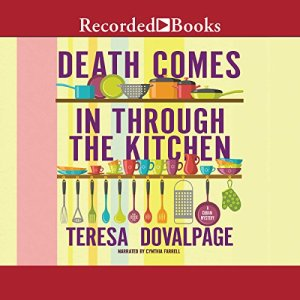 Death Comes in Through the Kitchen Audiobook By Teresa Dovalpage cover art