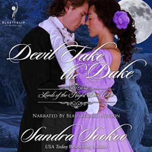 Devil Take the Duke Audiobook By Sandra Sookoo cover art