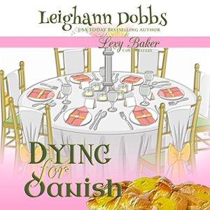 Dying for Danish Audiobook By Leighann Dobbs cover art