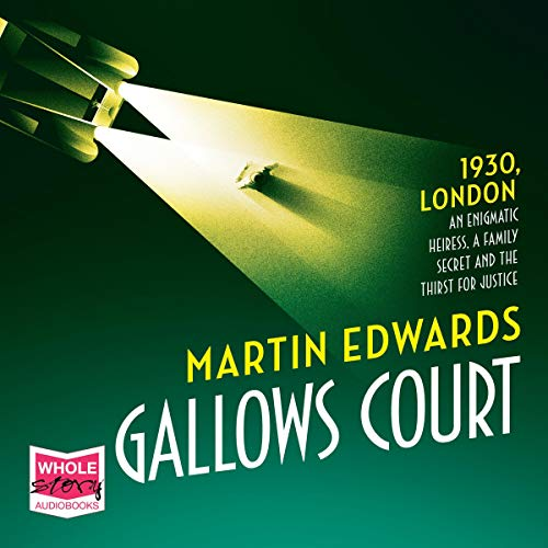 Gallows Court Audiobook By Martin Edwards cover art