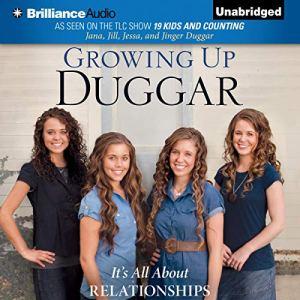 Growing Up Duggar Audiobook By Jana Duggar, Jill Duggar, Jessa Duggar, Jinger Duggar cover art