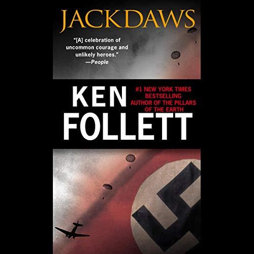 Jackdaws Audiobook By Ken Follett cover art