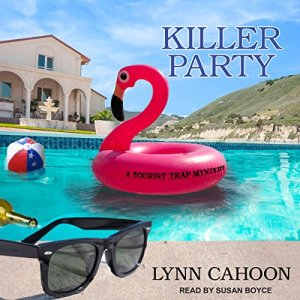 Killer Party Audiobook By Lynn Cahoon cover art