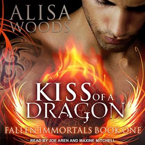Kiss of a Dragon Audiobook By Alisa Woods cover art