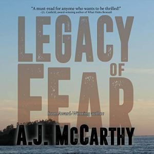 Legacy of Fear Audiobook By A.J. McCarthy cover art