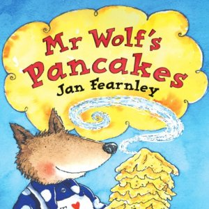 Mr Wolf's Pancakes Audiobook By Jan Fearnley cover art