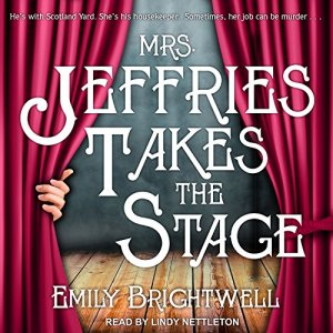 Mrs. Jeffries Takes the Stage Audiobook By Emily Brightwell cover art