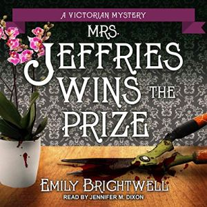 Mrs. Jeffries Wins the Prize Audiobook By Emily Brightwell cover art
