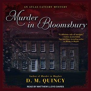 Murder in Bloomsbury Audiobook By D.M. Quincy cover art