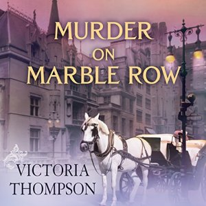 Murder on Marble Row Audiobook By Victoria Thompson cover art