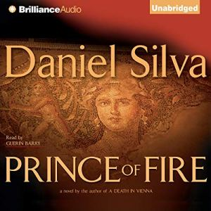 Prince of Fire Audiobook By Daniel Silva cover art