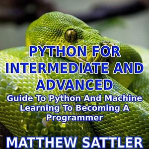 Python for Intermediate and Advanced Audiobook By Matthew Sattler cover art