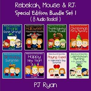 Rebekah, Mouse, & RJ Audiobook By PJ Ryan cover art