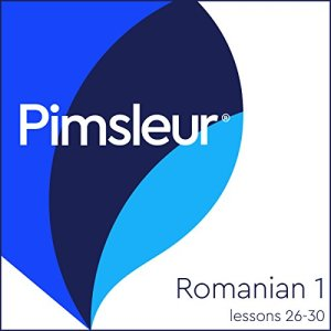 Romanian Phase 1, Unit 26-30 Audiobook By Pimsleur cover art