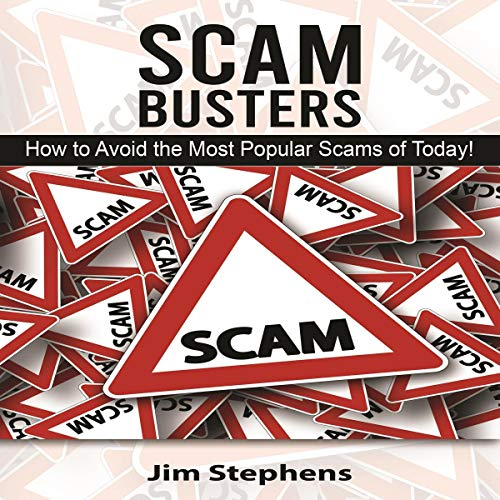 Scam Busters Audiobook By Jim Stephens cover art