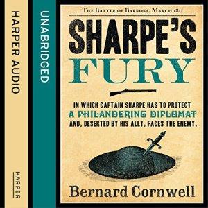 Sharpe's Fury: The Battle of Barrosa, March 1811 Audiobook By Bernard Cornwell cover art