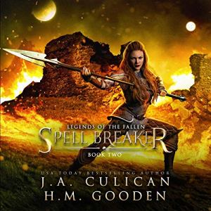 Spell Breaker Audiobook By J.A. Culican, H.M. Gooden cover art