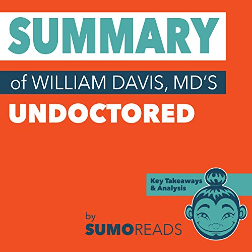 Summary of William Davis MD's Undoctored: Key Takeaways & Analysis Audiobook By Sumoreads cover art
