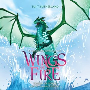 Talons of Power Audiobook By Tui T. Sutherland cover art