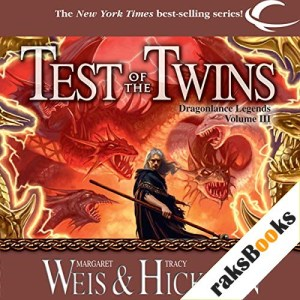 Test of the Twins Audiobook By Tracy Hickman, Margaret Weis cover art