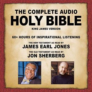 The Complete Audio Holy Bible - KJV Audiobook By Topics Media Group cover art