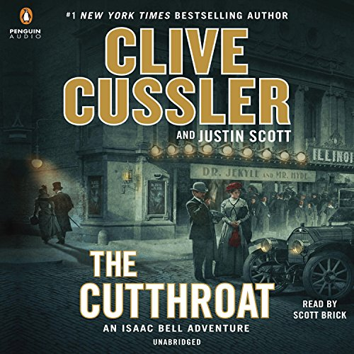 The Cutthroat Audiobook By Clive Cussler, Justin Scott cover art