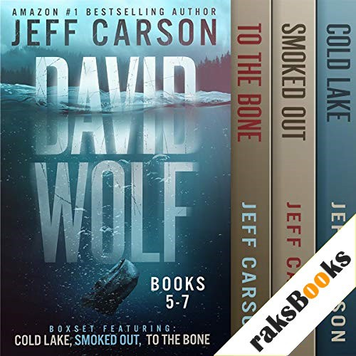 The David Wolf Mystery Thriller Series: Books 5-7 Audiobook By Jeff Carson cover art