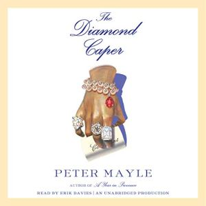 The Diamond Caper Audiobook By Peter Mayle cover art