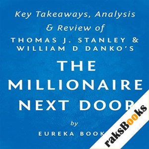 The Millionaire Next Door by Thomas J. Stanley and William D. Danko: Key Takeaways, Analysis, & Review Audiobook By Eureka Books cover art