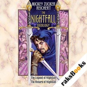 The Nightfall Duology Audiobook By Mickey Zucker Reichert cover art