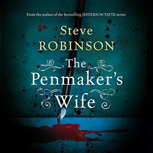 The Penmaker's Wife Audiobook By Steve Robinson cover art