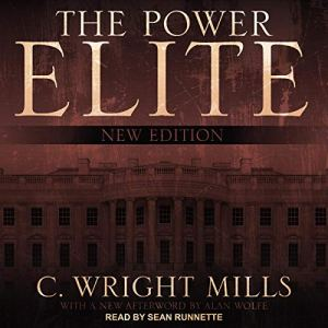 The Power Elite Audiobook By C. Wright Mills, Alan Wolfe - afterword cover art