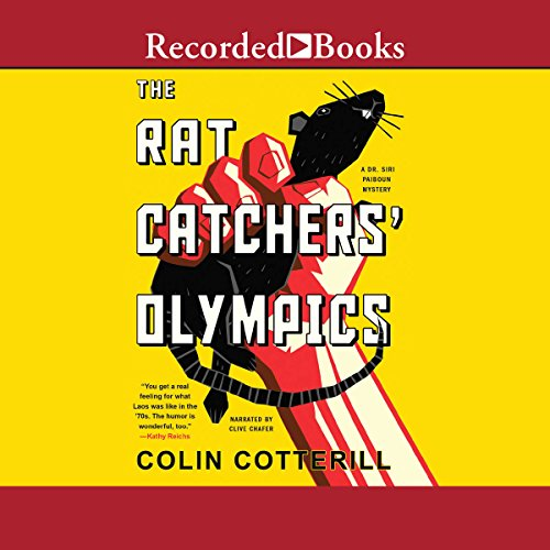 The Rat Catchers' Olympics Audiobook By Colin Cotterill cover art